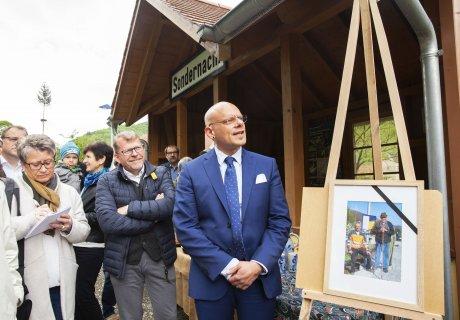 Verkehrsausschuss besucht SAB - Sondernach