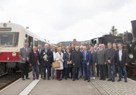 Verkehrsausschuss besucht SAB