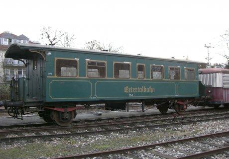 SAB Wagen 2703 Wacholderbar im alten Zustand als MKB 114