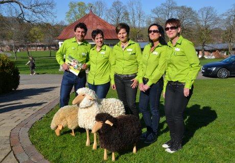 Team der Touristik Information Münsingen