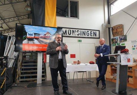Unterzeichnung Verkehrsvertrag SAB GmbH Netz 50 Karl Rombach