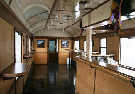 Donnerbüchse 27171 Barwagen Innenraum