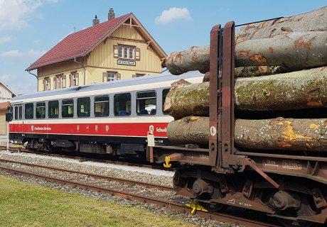 Güterverkehr auf der SAB im Frühjahr 2018