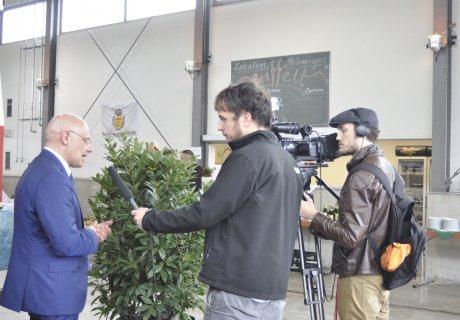 Unterzeichnung Verkehrsvertrag SAB GmbH Netz 50 Interview