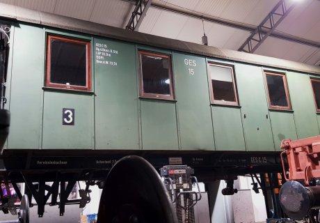 Hauptuntersuchung an GES-Wagen C15