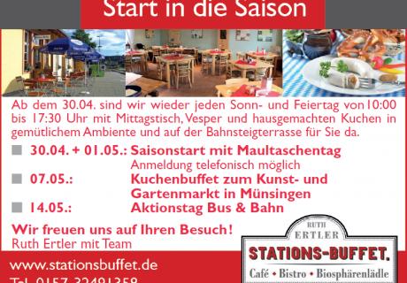 Stationsbuffet im Münsinger Bahnhof
