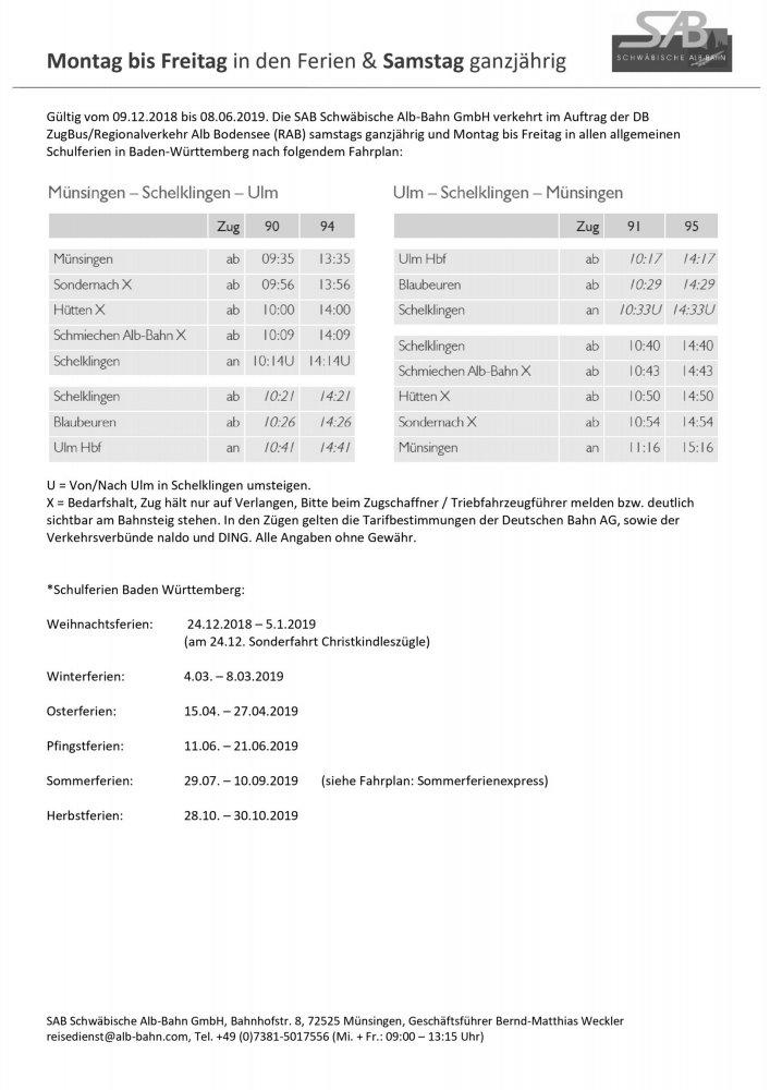 PDF-Download: SAB Montag bis Freitag in den Ferien & Samstag ganzjährig