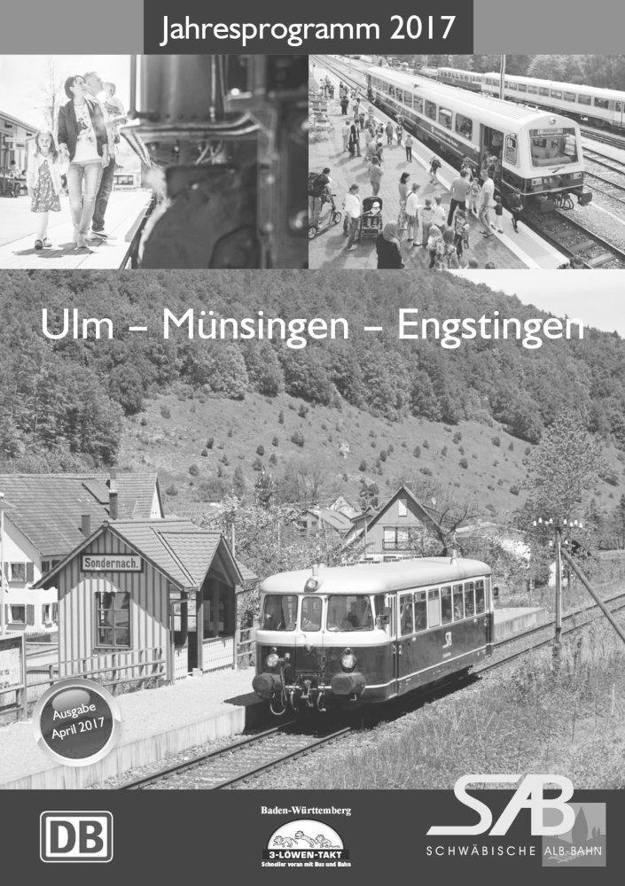 Das Jahresprogramm der Schwäbischen Alb Bahn 2017