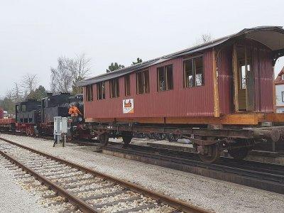 SAB Wagen 2703 Wacholderbar