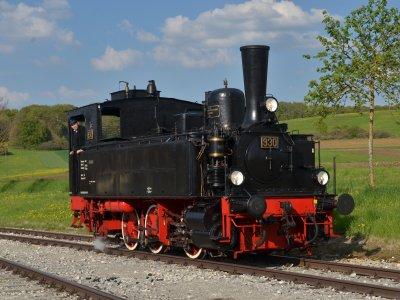 Die württ. T3 Nr. 930 in Kleinengstingen